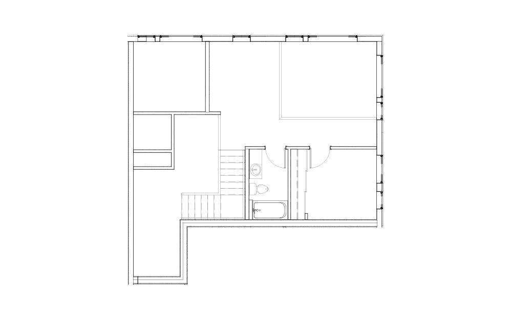EL-L.1 - 3 bedroom floorplan layout with 2 baths and 1428 square feet. (Floor 1)