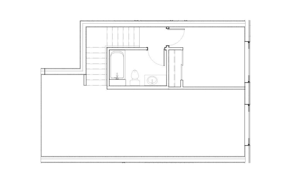 EL-L.2 - 2 bedroom floorplan layout with 2 baths and 1008 square feet. (Floor 1)